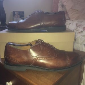 Rockport Shoes - Rockport Brown Cap Toe Oxford Size 10.5